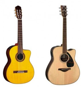 گیتار cutaway