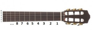دسته گیتار