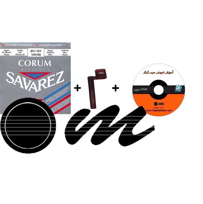 پکیج کامل سیم و تعویض سیم گیتار ساوارز