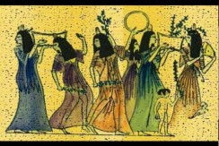 تاریخ پیدایش ساز های موسیقی